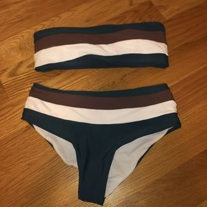 Zaful high waisted bikini